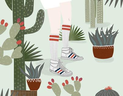 Cover Illustration, Jeannette Magazine