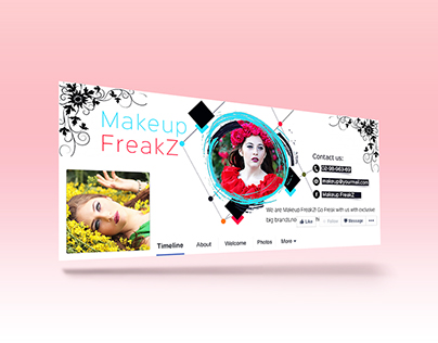 Fashion Beauty Facebook Cover/banner