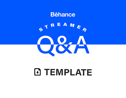 Streamer Q&A Template