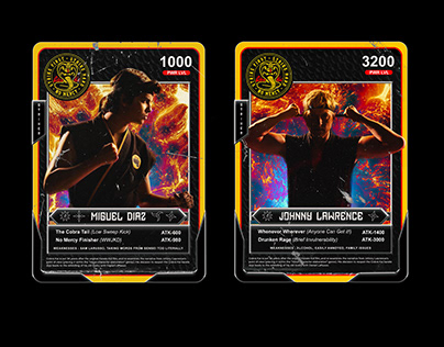 Cobra Kai Card Game