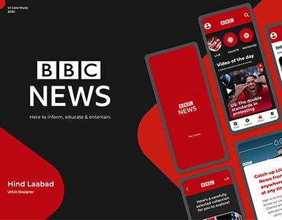 BBC News App UX Case Study