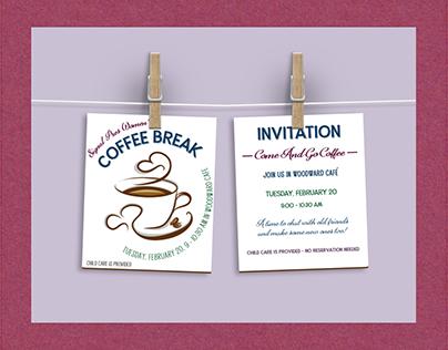 Invitation ads / handouts