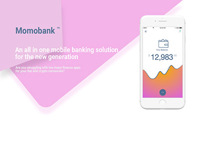 Momobank - Bank of the future