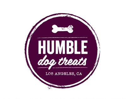 Humble Dog Treats branding