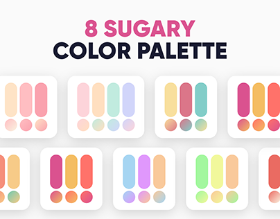 8 Sugary Color Palettes by Dopely Colors