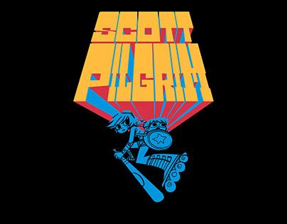 Kinetic typography   Scott Pilgrim vs. The world