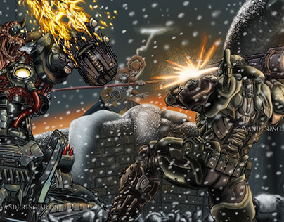DOOM: Doom Slayer vs. Doom Hunter