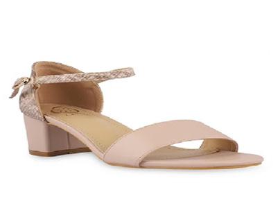 Buy Winona Open Toe Nude Sandal Online for Women