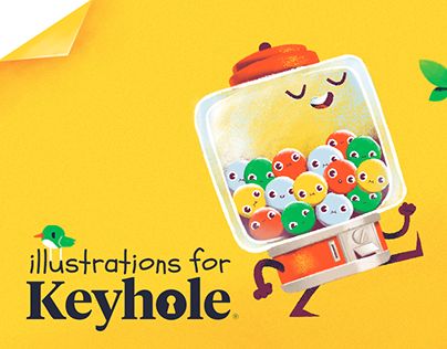 Illustrations for Keyhole