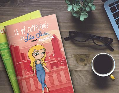 Book cover illustration, logo & graphic design