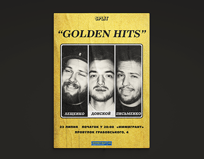 """GOLDEN HITS"" stand up show"