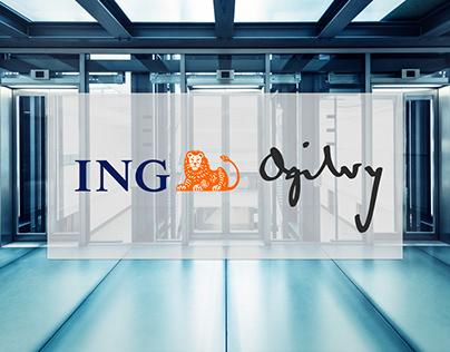Ogilvy per ING   Print campaign