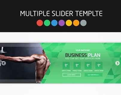 Web Element Slider Templates