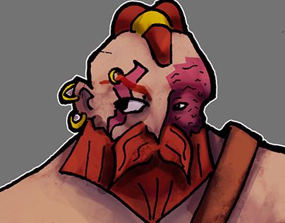 Gundur, the berserker