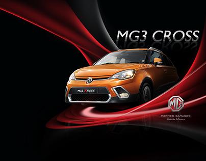 MG - MG3 Cross Brochure Design