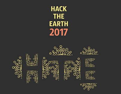 Hack the Earth 2017 poster