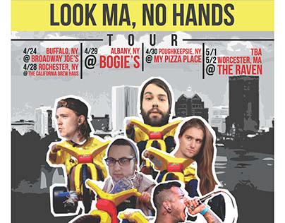 "Tour Poster: Boulders ""Look Ma, No Hands!"" Tour"