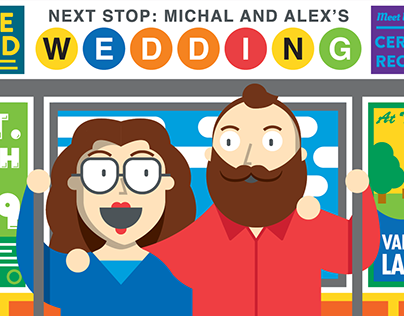 Michal and Alex's Wedding Invite