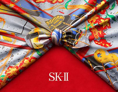 SK2 Furoshiki Knot - CGI