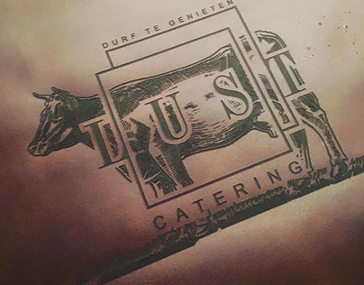 LUST Catering // Complete Brand Identity