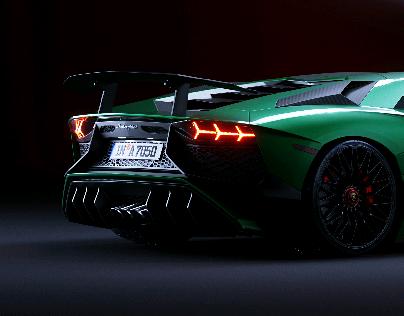 Cgi Lamborghini Aventador Interior On Behance
