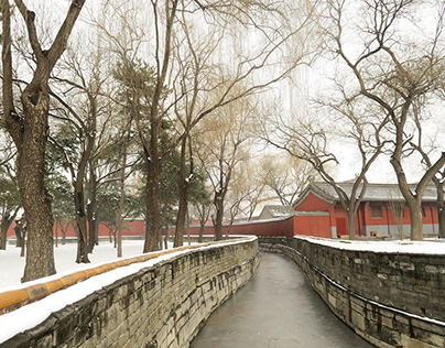 Snowy Beijing