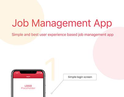 Job Management App