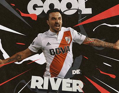 "River Plate — Social Media ""GOOL"""