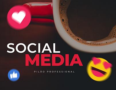 Social Media - Pilão Professional