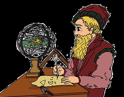illustrazioni per articoli scientifici