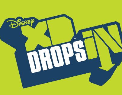 DISNEY XD - DROPS IN LOGO