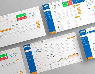 [Dashboard] Investimento - Caixa