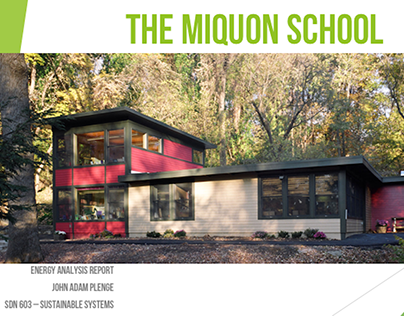 The Miquon School: An Energy Audit / Systems Review