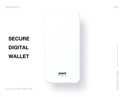 BitBill 3.0 - Secure Digital Wallet - Blockchain Wallet