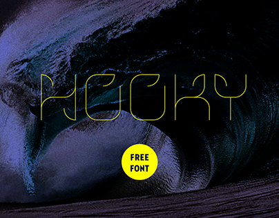 HOOKY // font project // free download