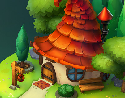 Axel's house