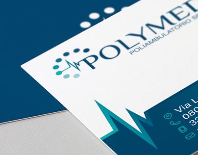 Logo e grafica per Polymedic - ambulatorio medico