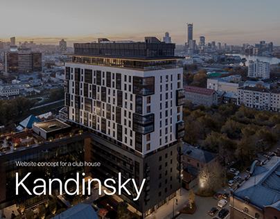 Kandinsky — website concept