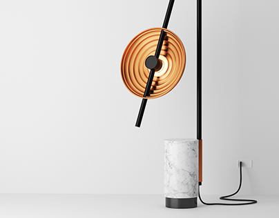 Product Design Personal Project   Floor Lamp