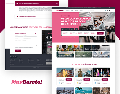 "MuyBarato! | Landing Page ""Book Cheap Flights"""