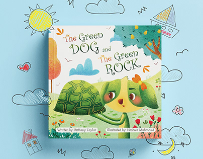 The Green Dog & The Green Rock