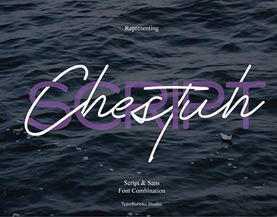 Chestuh Sript and Sans