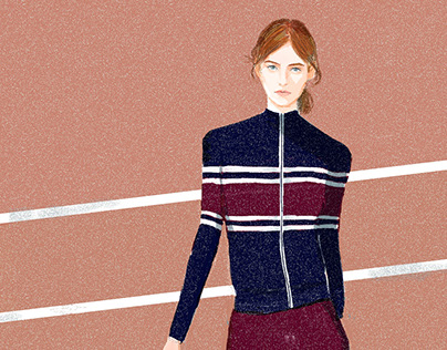 Illustration for Tory Sports AW15