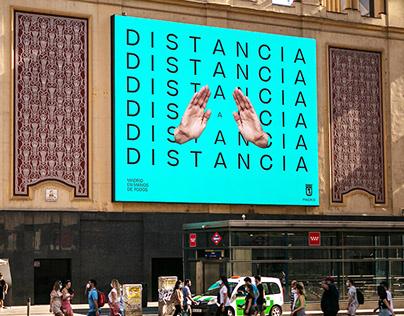 Madrid en Manos de Todos - COVID19 Campaign