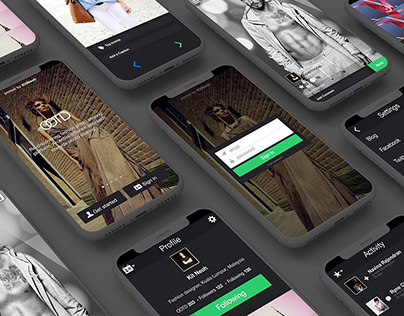 OOTD App by Kit Neoh / UIUX design prototype