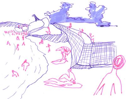 Desenhos de observação — Ilha do Governador