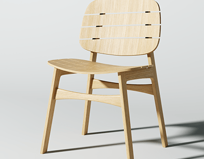 Iteration of Wood Chair