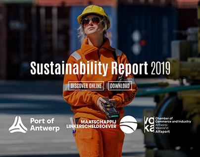 Interactive Sustainability Report   Port of Antwerp