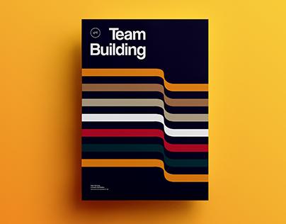 Poster by Xavier Esclusa Trias / EM / Team Building