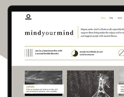 Mind Your Mind Website Redesign